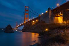 Dusk at the Golden Gate