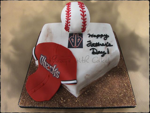 Arizona Diamondbacks Birthday Cake