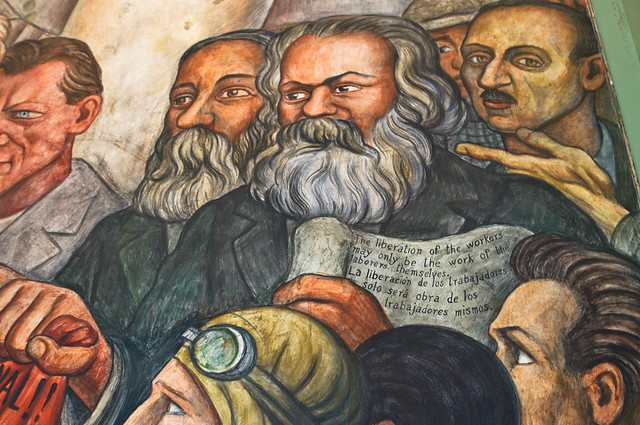 Diego rivera mural flickr photo sharing for Diego rivera lenin mural