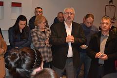 Кликни за фотогалерија - Средба со членовите и симпатизерите на ГРОМ од општина Илинден (14.03.2014)