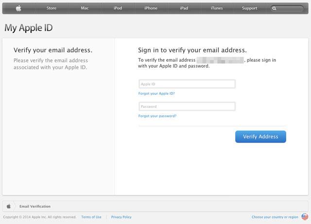 メールアドレス確認画面