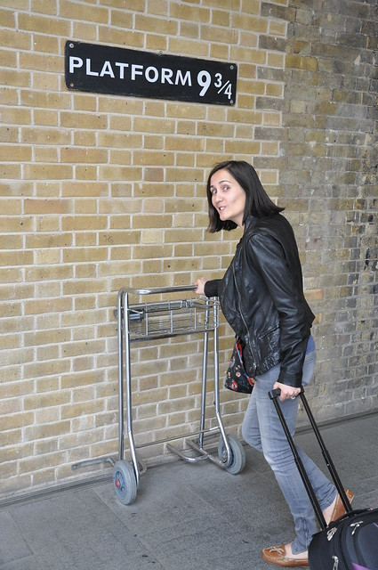 London - Harry Potter Platform 9 3/4