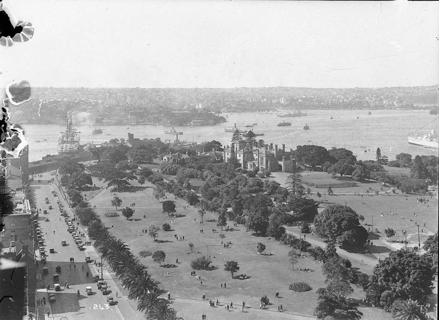 Sydney Harbour, 19 March 1932, by Hall & Co.