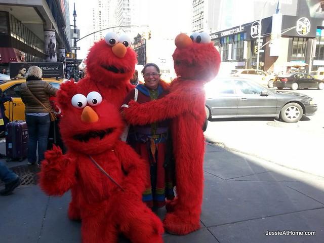Elmo-swarm