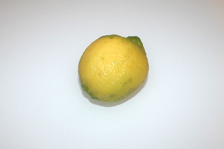 02 - Zutat Zitrone / Ingredient lemon