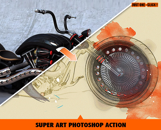 Creative Art Photoshop Action
