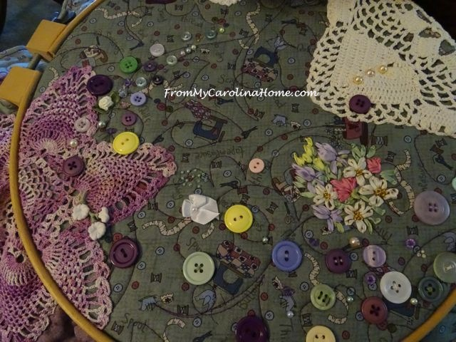 Quilted Art Project May 2016 at From My Carolina Home
