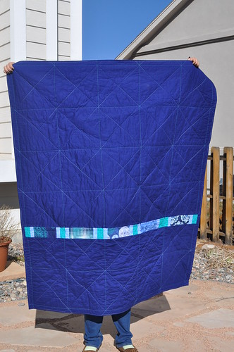 Julie's Quilt ~ The Back