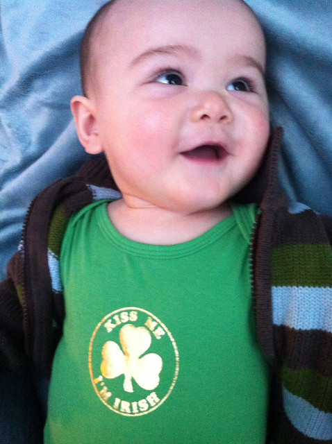 Vincent First St Patrick's Day Shirt