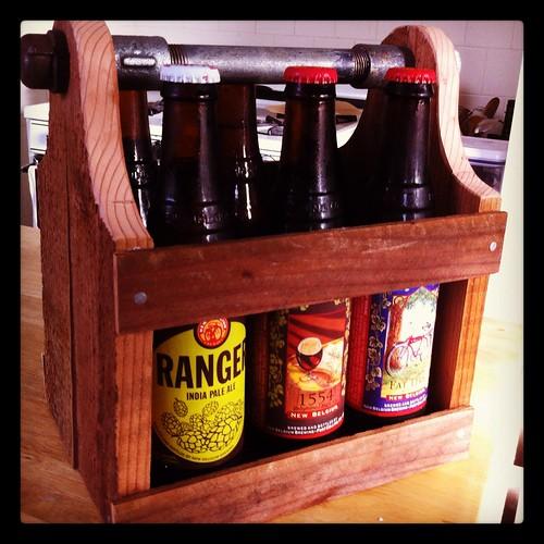 DIY: Farilla's New Beer Caddy by Sanctuary-Studio