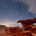 Star Trails over Sandstone by Jeffrey Sullivan