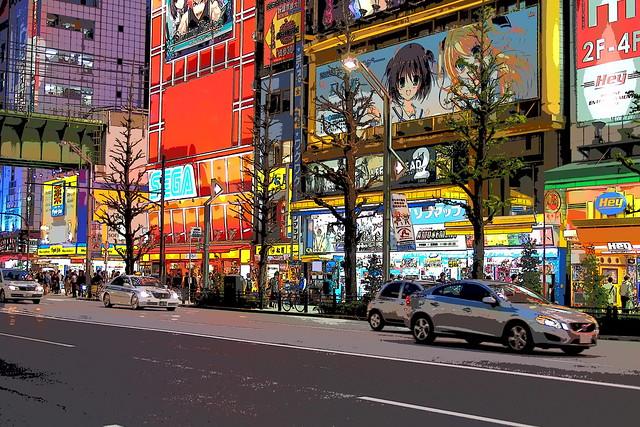 Ligne Claire Akihabara - Anime Style