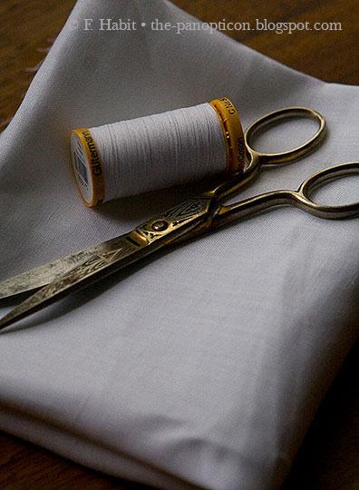 For Ethel's petticoat.