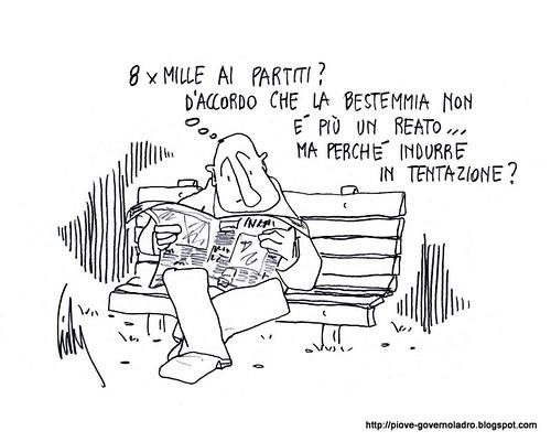 8 x Mille ai partiti by Livio Bonino