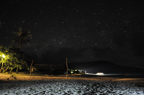 starry night in Calaguas