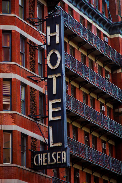 """I remember you well, in the Chelsea Hotel..."