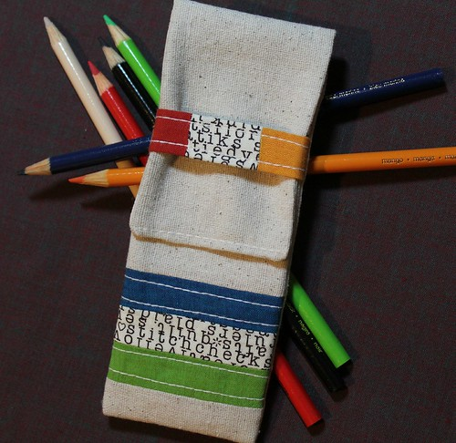 Zakka Style Pencil Case