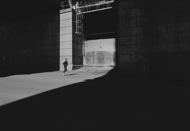 running man Photography by Viktor Gårdsäter