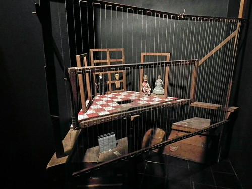 Portuguese Puppet Theatre Stage at Museu da Marioneta (Puppet Museum), Lisboa. (Lisbon. 2011)