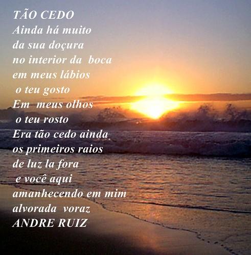 TÃO CEDO by amigos do poeta