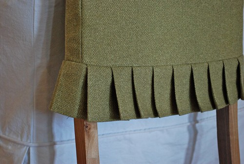 green parsons chair slipcover 2
