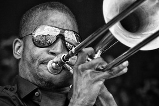 "Troy ""Trombone  Shorty"" Andrews by Skip Bolen"
