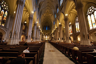 Offer prayers in St Patrick's Cathedral - Things to do in New York City
