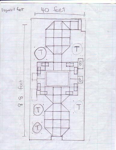 Courtyard blueprint 1