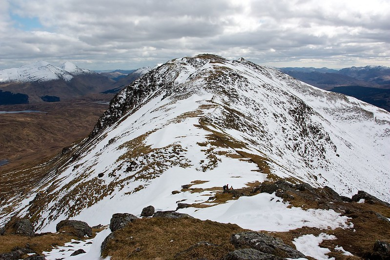 South top of Ben Challium