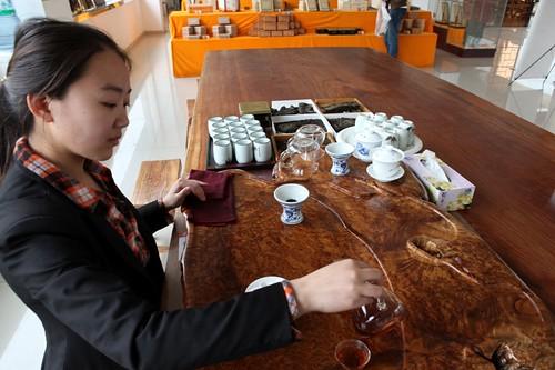 古法制古茶
