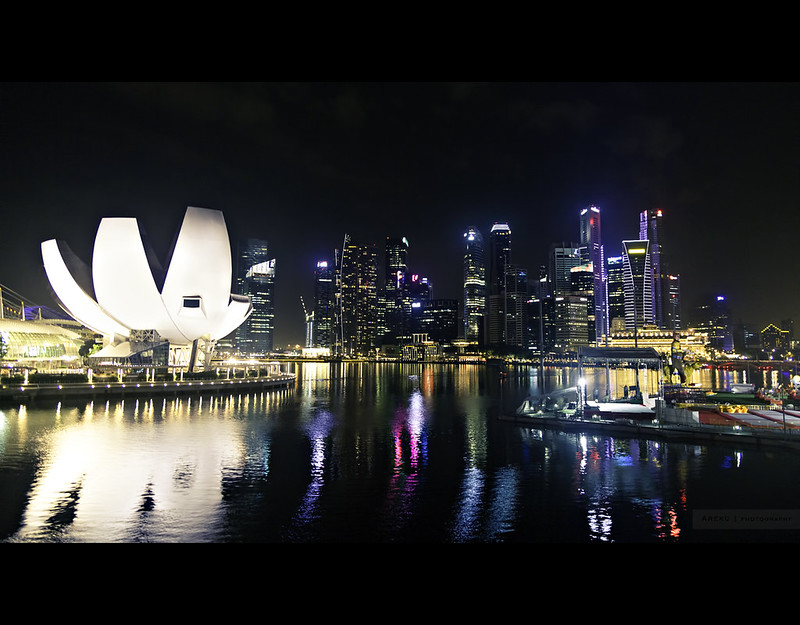 Singapore by night #1