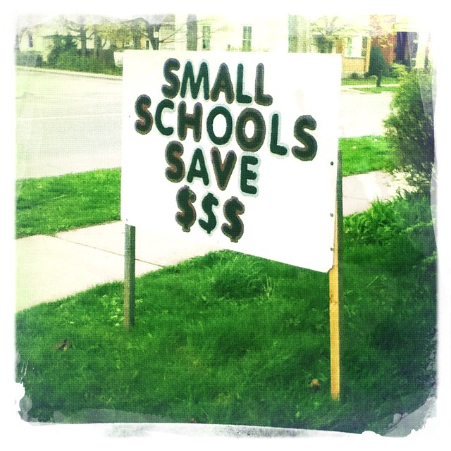 Small Schools Save Money $$$