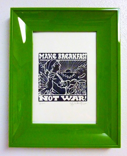 Make Breakfast, Not War!