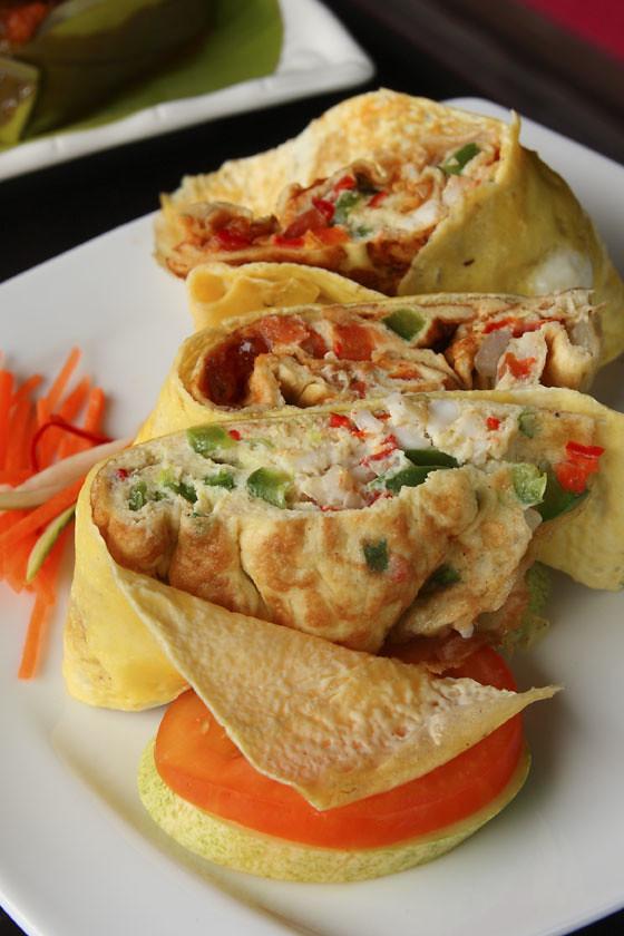 Samira Thai Omelette Rolls