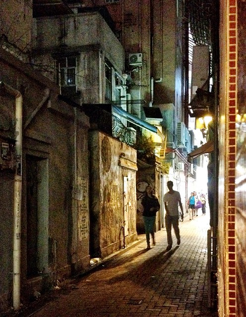 Late Night in a Causeway Bay Alley