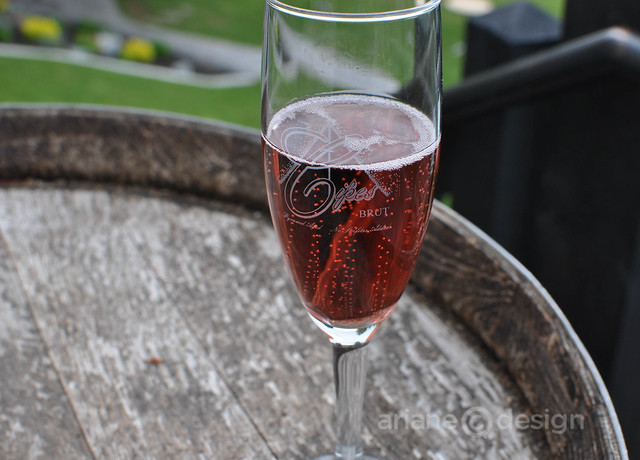 Summerhill Pyramid Winery bubbly