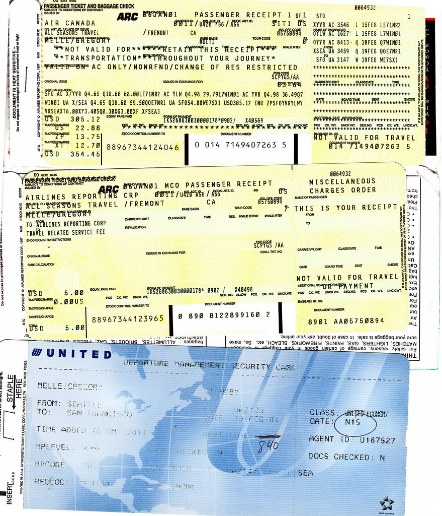 Download this Gorilla Airline Tickets picture