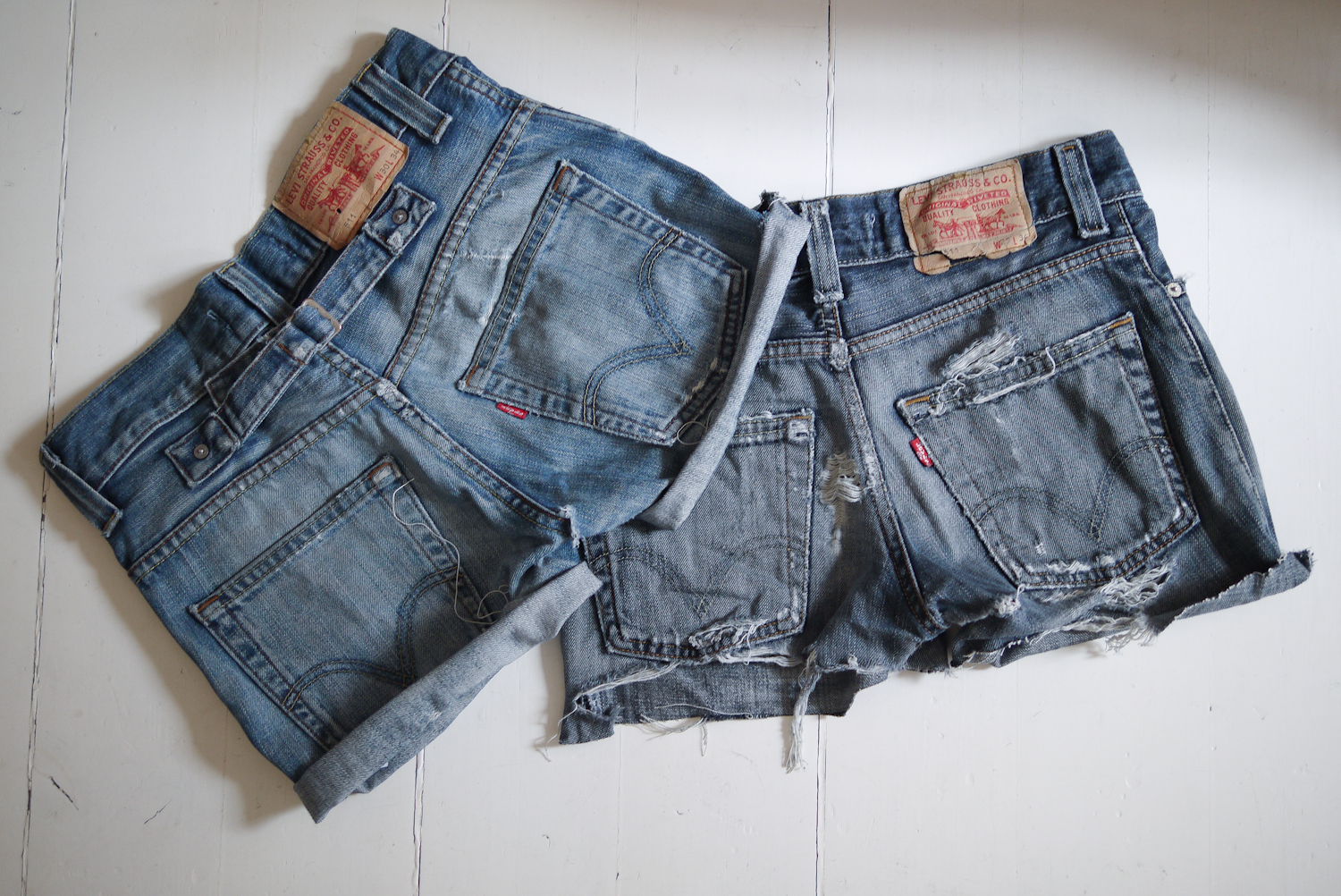 Old jeans > New shorts