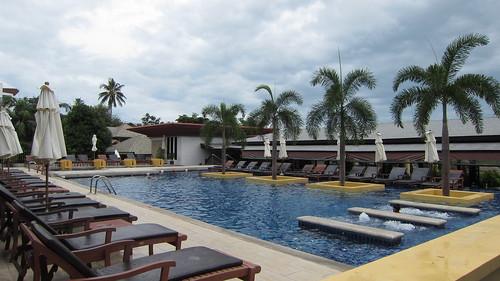 Koh Samui Kandaburi Resort hillside pool サムイ島カンダブリリゾート (12)
