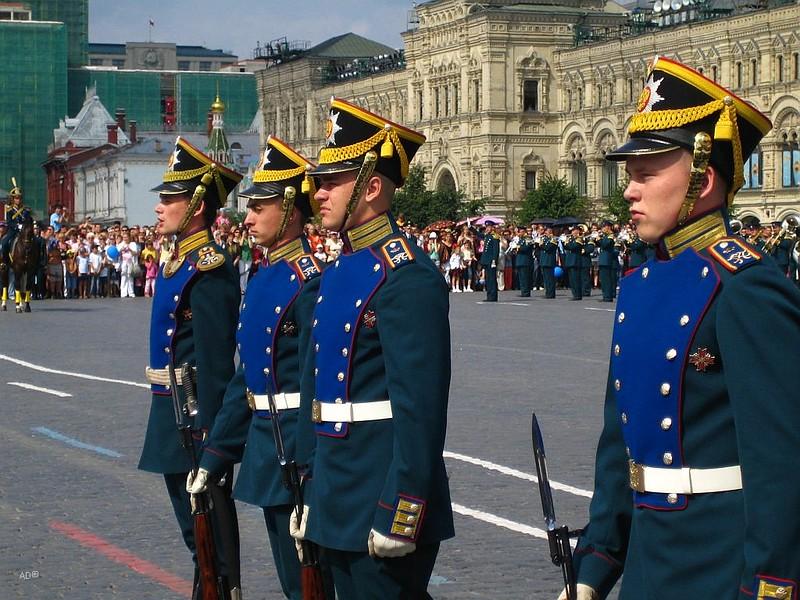 Церимония на Красной площади