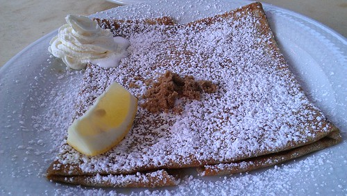 Lemon Butter Crepe