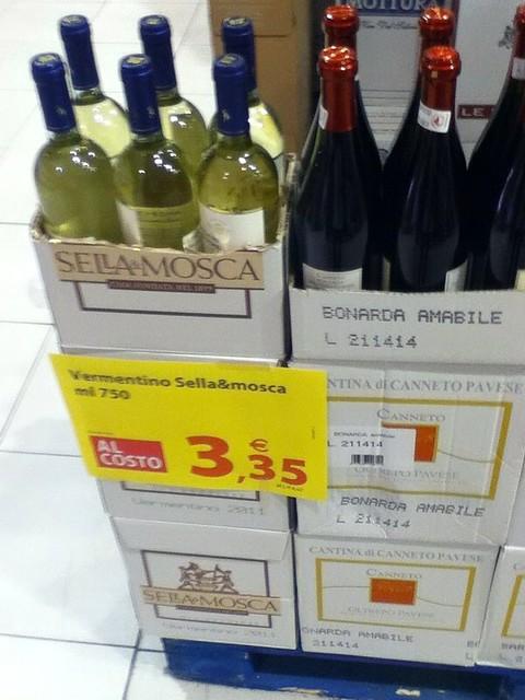 Italian White Wine 3.35 Euro