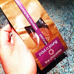 Excellent treat: Aztec hot chocolate with spices from Paul A Young