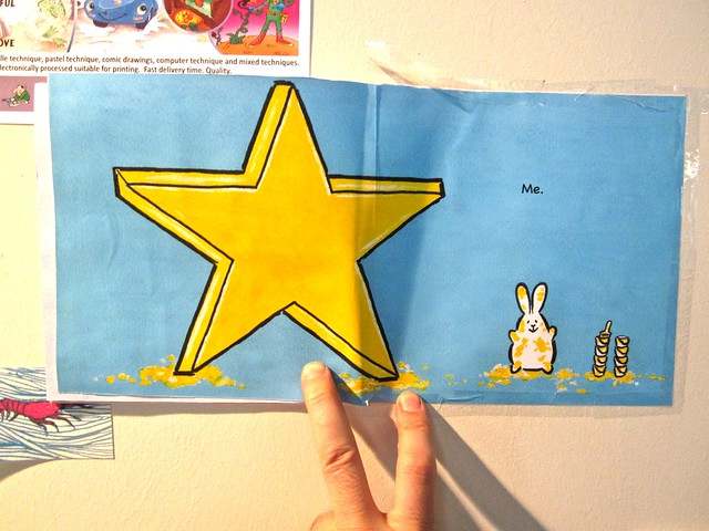 I am a rabbit / Nika Matsumoto (BCBF 2012). 18