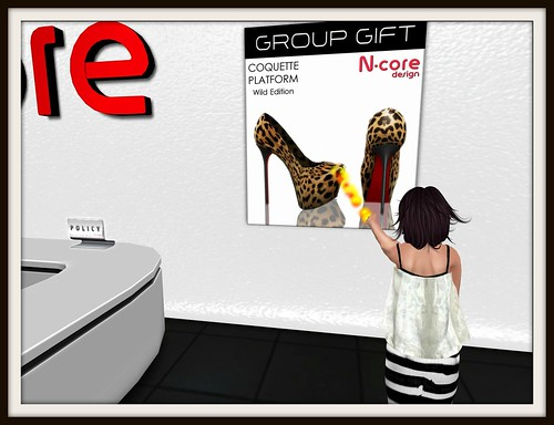 "N-Core *Group Gift* Coquette Platform ""Wild Edition"" by Cherokeeh Asteria"