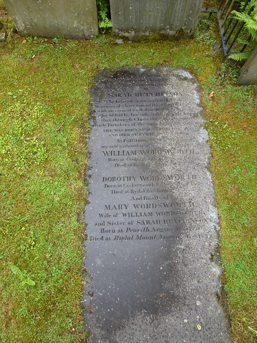 Grasmere - Wordsworth gravestone