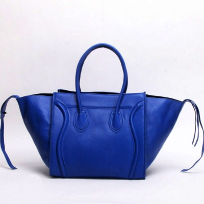 celine luggage apricot leather bags