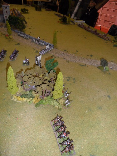 French Right Flank