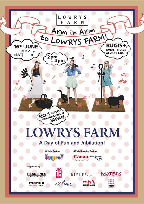LOWRYS FARM INVITE