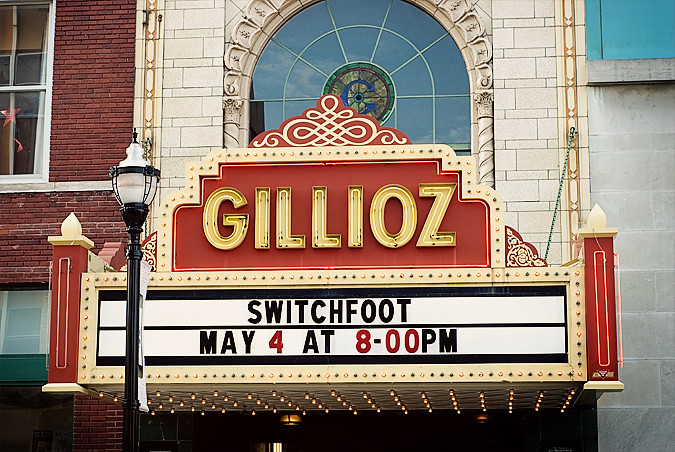 b switchfoot springfield mo 05-04-12 Gillioz Theater